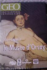 """PC """"Découvrir le Musée d'Orsay"""" (VISITE VIRTUELLE SPECTACULAIRE) NEUF BLISTER"""