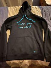 Nike FC Barcelona Soccer Hoodie Rare Third Jersey Sweatshirt Medium Extra Soft