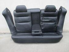 LEDER Rücksitzbank VW Passat 3B Limousine schwarz Rückbank Ausstattung