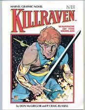 Marvel Graphic Novel #7    Killraven: Warrior of the Worlds     1983