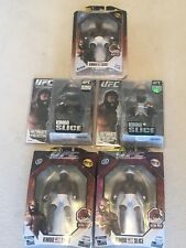 KIMBO SLICE LOT OF 5 ~ UFC figures, limited edition, series 1-4, round 5!!!