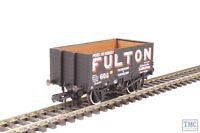 OR76MW7018 Oxford Rail OO Gauge 7 Plank Wagon Wigan Fulton 602