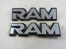 Pair of 1981-1993 Dodge Ram Truck Fender Emblems