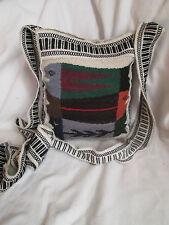 AUTHENTIQUE sac bandoulière  EN LAINE  TBEG vintage bag