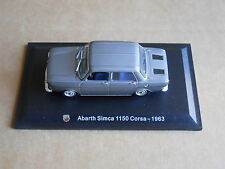 Leo Models CAR DIE CAST 1:43 NEW - ABARTH SIMCA 1150 CORSA 1963  [MV-8 ]
