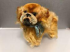 Steiff 4120/10 Hund Pekinese 10,5 cm. Top Zustand