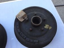 Nos 1952-1954 Ford Front Brake Drums Set Of Two