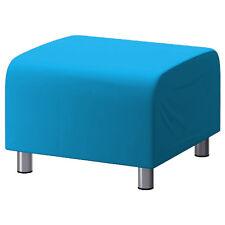 Turquoise personnalisé Revêtement pour Ikea Klippan Repose-pieds housse canapé