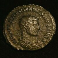 MAXIMIANUS FOLLIS IMPERIAL ROMAN COIN  - VG CONDITION