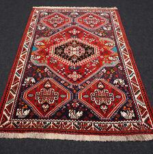 Orient Teppich Brücke 153 x 108 cm Perserteppich Handgeknüpft Carpet Rug Tappeto