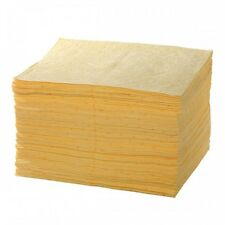 200 pack Chemical Spill Absorbent Pads - keep handy or refill your spill kit