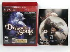 Demon's Souls (Sony PlayStation 3, 2009) Game Of The Year Manual Included