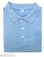 Nuevo Hombres Talla Grande Polo De Manga Corta Camiseta Suéter 2xl, 3xl, 4xl &