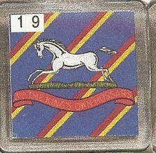 Acrylic Military Key Ring  3rd KingsOwn Hussars