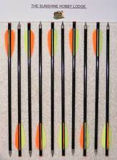 "40 X 13.5"" Crossbow Bolts Carbon + Glass Fiber Standard Recurve Xbow Arrows New"