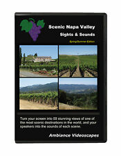 Scenic Napa Valley DVD video - Ambiance, vineyards and landscapes, wine country