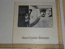 HENRI CARTIER-BRESSON - PALAZZO DELLE ESPOSIZIONI / PALAZZO VECCHIO - 1978