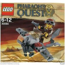 Lego Pharaoh's Quest 30090 Aeroplane With Minifig Promo Pack brand new  sealed