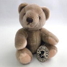 VTG GUND Bialowsky & Friends Teddy Bear Plush Stuffed Animal Toy HANG TAG 1982