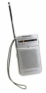 [Panasonic] RF-P50 Pocket Radio Portable AM/FM 2-Band Receiver / Silver