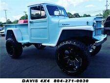 1954 Willys Jeep Restored Classic Lifted 4 Wheel Drive Pick up
