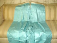 """NORMAN'S OF SALISBURY Custom Made Blue Cotton Lined Drapes Curtains!  30"""" x 86"""""""