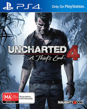 Uncharted 4 a Thiefs End Ps4 Game AU Version