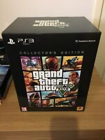 GTA V Collectors Edition RARE PAL PS3 Complete NEW BOX NO SEAL