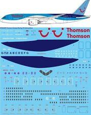 26Decals 1/144 Boeing 787-8 - Thomson Airways decals