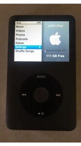 Apple iPod Classic 6th Generation Black 120GB