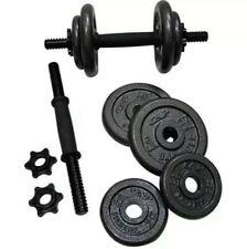 NEW CAP 40 Lb Total Adjustable Cast Iron Dumbbell Weight Set