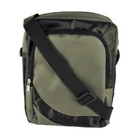Mens Grey Messenger Bag
