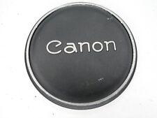 #3 Canon 58mm Slip On Metal Front Camera Lens Cap FL & Rangefinder Lenses
