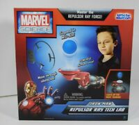 Marvel Science Iron Man Repulsor Ray Tech Lab Ray Force Kids Toys Brand New