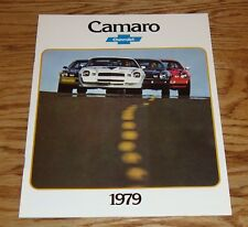 Original 1979 Chevrolet Camaro Sales Brochure 79 Chevy Z28 Berlinetta Sport