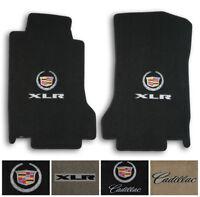 Lloyd Carpet 2pc Floor Mats for 2004-2008 Cadillac XLR - Choose Color & Logo
