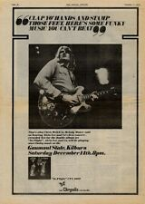 "TEN YEARS AFTER Kilburn, London 1974  UK Poster size Press ADVERT 16x12"""