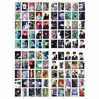 100pcs Stray Kids Lomo Cards Photo Cards Hyun Jin Lee Felix Mini Posters N Nice