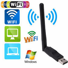 150Mbps USB 802.11n Wi-Fi Ethernet Wireless Adapter Card with 2dbi Antenna NEW