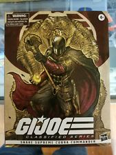 G.i. joe classified series snake Supreme cobra commander , hasbro con exclusive