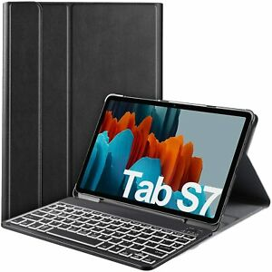 Magnetic Backlight Keyboard Case for Samsung Galaxy Tab S7 (SM-T870/875) 11 2020