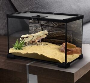 Reptile Terrarium Cage Enclosure Lizard Snake Frog Spider Scorpion 50cm
