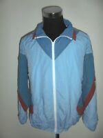 vintage 80`s CRANE Nylon Jacke Trainingsjacke sportjacke oldschool blau 52/54 L