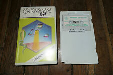 Jeu Amstrad CPC 464 - MISSION DEFLECTOR - Cobrasoft