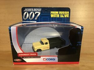 Corgi TY06701 James Bond Chevrolet Truck From Russia With Love