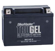 BikeMaster TruGel Motorcycle & Scooter Gel Battery YTZ14S Compatible - MG14Z-S