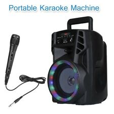 More details for portable wireless bluetooth speaker karaoke machine stereo super bass ultra loud