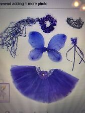Lilly's Land of Fairytales Purple Princess Fairy Dress-Up/Costume