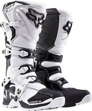 NEW 2018 Fox Racing Adult Comp 5 MX Motocross ATV Riding Boots White Size 13