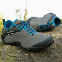 Men's Hiking Shoes Outdoor Travel Running Sneakers Casual Sports Camping Lace Up